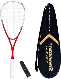 Senson Graphite Squash Racquet inclure Une Poignée et Un Sac de Raquette Senston