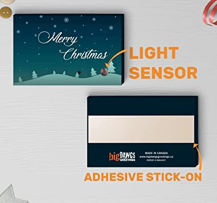 light activated christmas music recorder merry christmas greeting light sound module sound