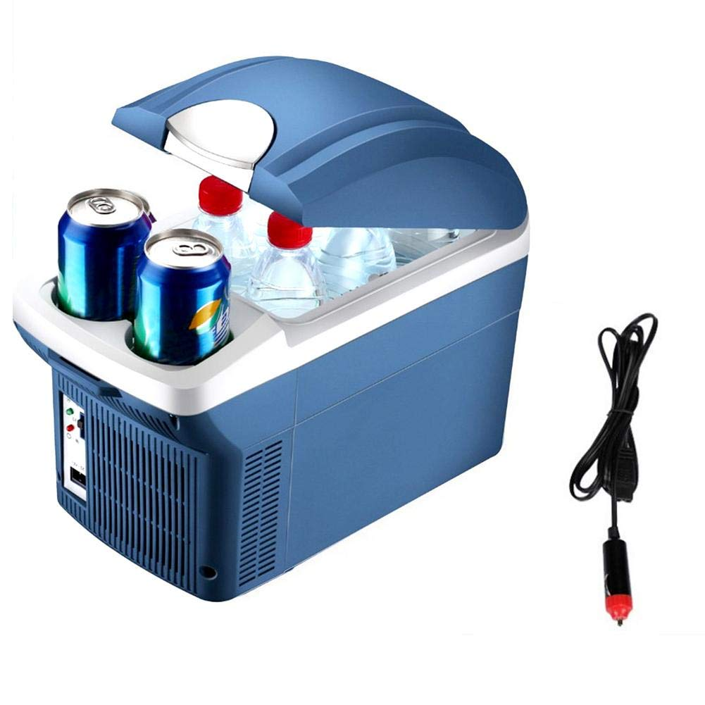 Shantan Portable Refrigerator, 8L Mini Cooling Refrigerators Freezer,Dual Use Cooler Warmer Car,Driving, Camping, Travel, Fishing, Outdoor and Home Use