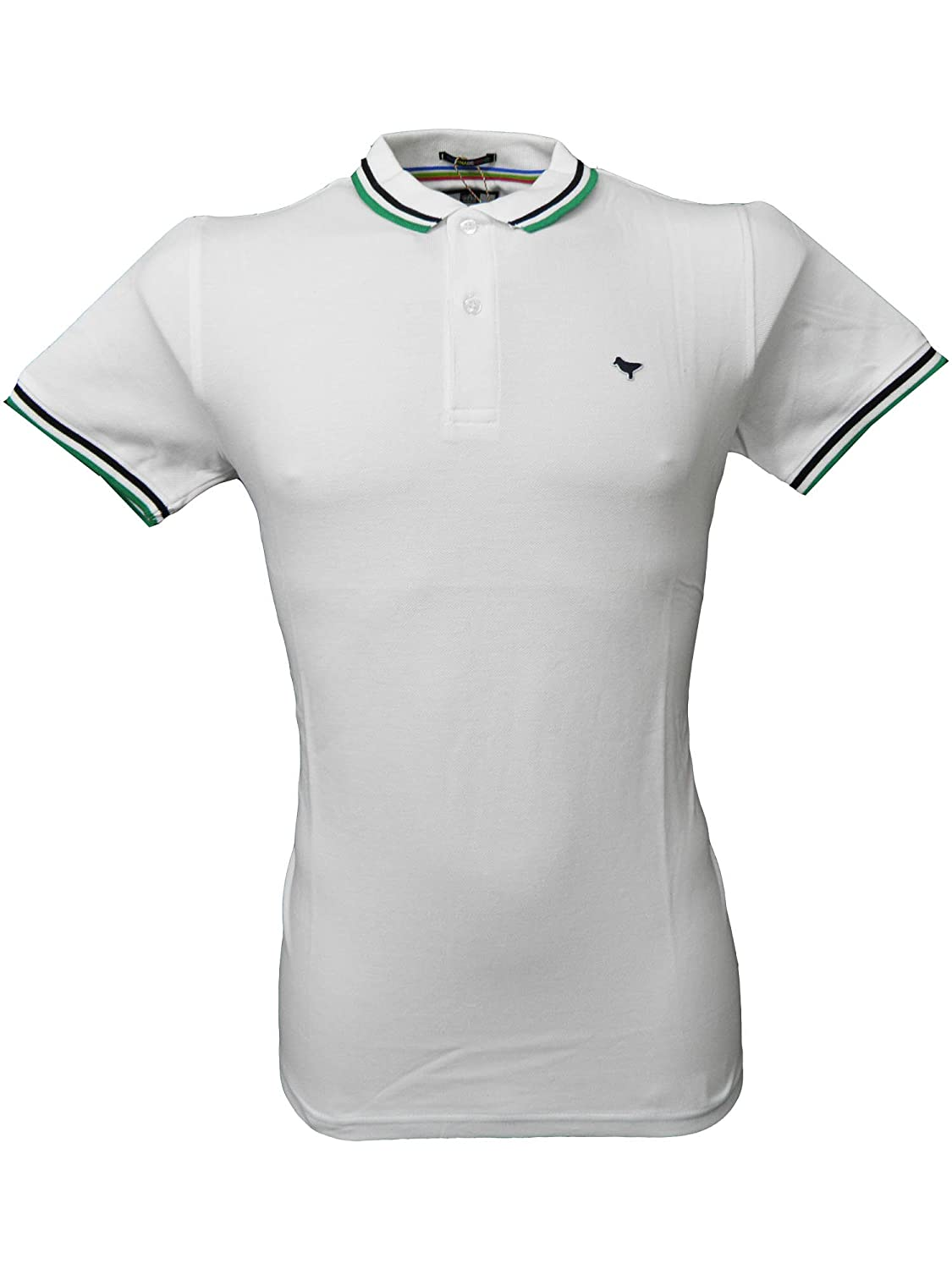 Weekend Offender - Camiseta de Polo para Hombre en Color Blanco ...