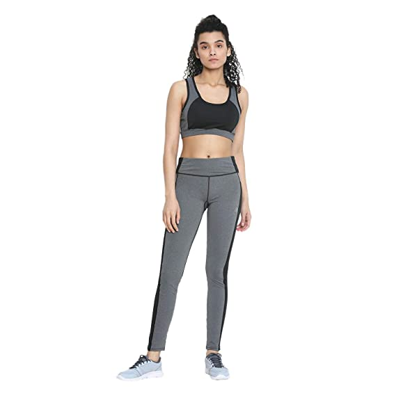 d787cf5cdba CHKOKKO Sports Bra and Yoga Pant Gym Wear Fitness Training Set for ...