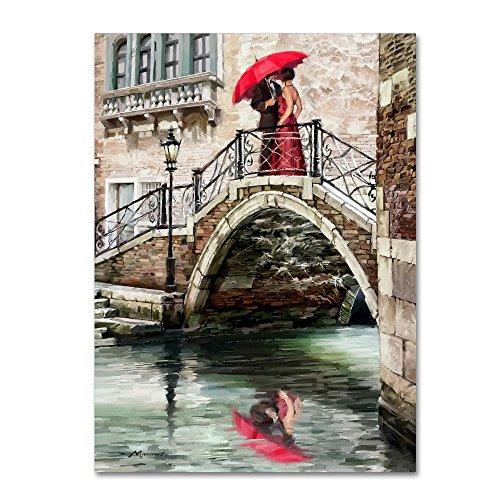 (New Venice Bridge by The Macneil Studio, 24x32-Inch Canvas Wall Art)