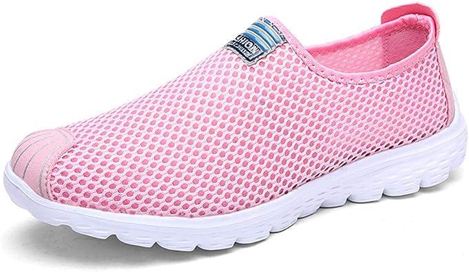 BaZhaHei Zapatos de Mujer Zapatillas Ligeras Transpirables Ligeras ...