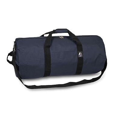 c3061f7470 Bagiva Everest Round Duffel Bag Travel Gear Luggage Sports Gym Bag(Navy