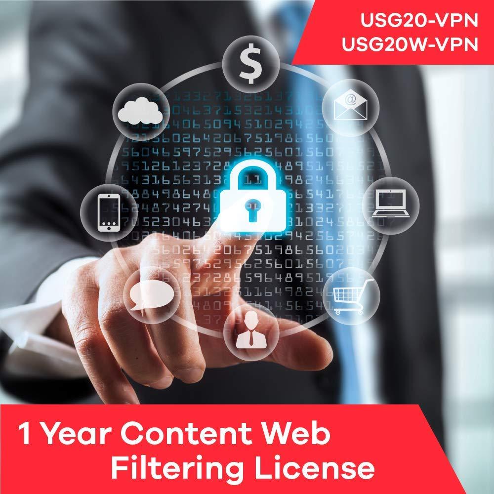 Zyxel Content Web Filtering Subscription License (1 Year) for USG20-VPN | USG20W-VPN by Zyxel