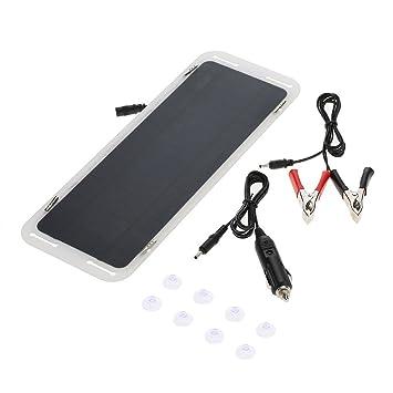 Amazon.com: Lixada 18 V 5 W batería Ultra delgada ...