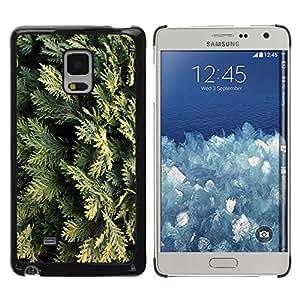 Be Good Phone Accessory // Dura Cáscara cubierta Protectora Caso Carcasa Funda de Protección para Samsung Galaxy Mega 5.8 9150 9152 // Juniper Leaves Nature Tree