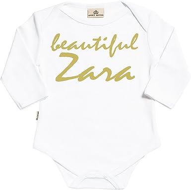 Spoilt Rotten Personalizados bebé Beautiful Custom Body para bebé niño - Body para bebé niña - Conjunto Regalo del bebé - Regalos Personalizados para bebé: Amazon.es: Ropa y accesorios