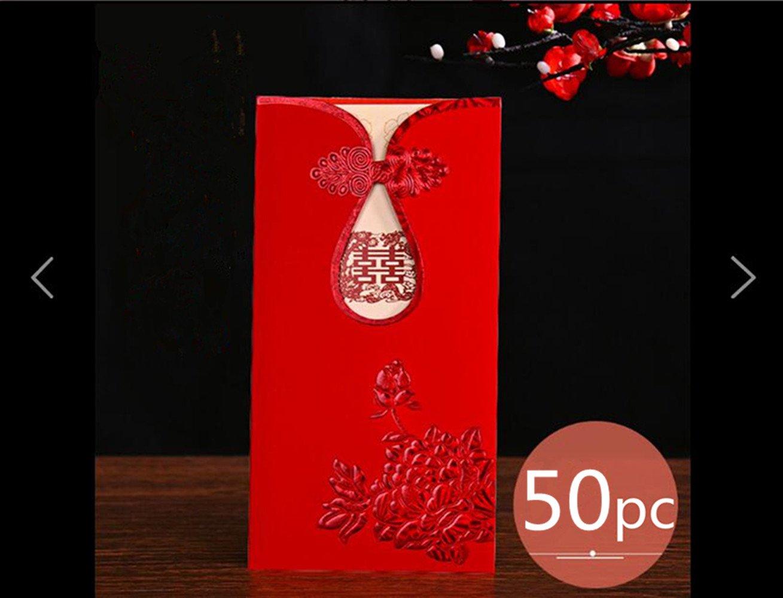 Amazon Com 2500 Silk Art 50pcs Red Elegant Handmade Laser