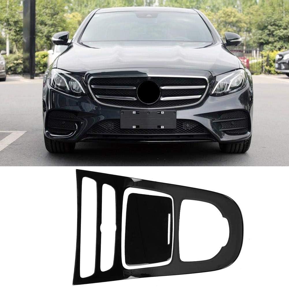 Keenso Console Gear Panel Trim,Interior Dashboard Console Gear Panel Cover Decor Trim 2pcs for Mercedes Benz E-Class W213 2016-2018 Walnut Brown Wood