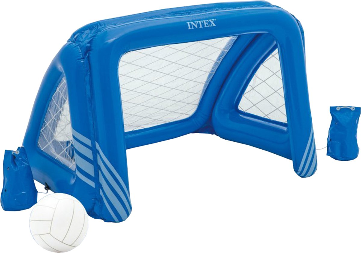 Intex - Piscina Aqua Fun Hinchable Flotante portería de Waterpolo ...