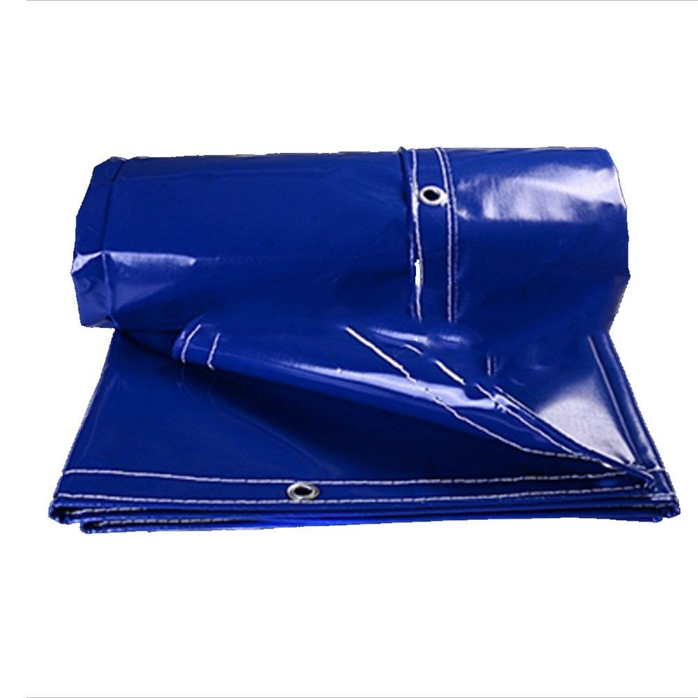 YANGFEI 防水シート 厚めのトラック用防水布キャンバスの雨布防水日除けキャノピー布PVC防水用防水シートターポリンをカスタマイズすることができます0.5ミリメートル-500グラム/m2 耐久性に優れています B07F7QFCMS   2*3m