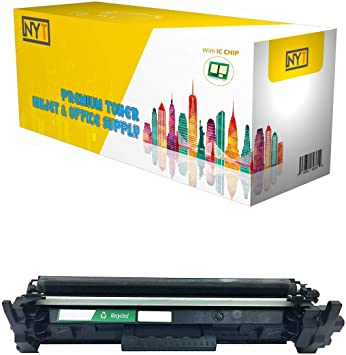 5 Pack CF217A 17A Toner Cartridge w//Chip For HP LaserJet Pro M102 M130fn M130fw