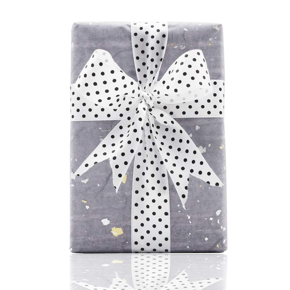 mariage Red travaux manuels ruban en tissu satin/é pour n/œuds Rouleau de ruban en tissu Clashduck motif /à pois 2,5 cm de large 50 m//rouleau cadeaux de f/ête