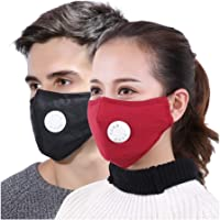 BabyGo Anti Pollution Face Mask Dust Respirator Washable Reusable Masks Cotton Unisex Mouth for Allergy/Asthma/Travel/Cycling PM2.5 (Set of 4)