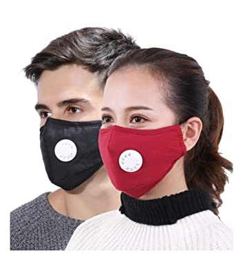 7155c6d0d76 BabyGo Anti Pollution Face Mask Dust Respirator Washable Reusable Masks  Cotton Unisex Mouth for Allergy Asthma Travel Cycling PM2.5 (Set of 4)   Amazon.in  ...