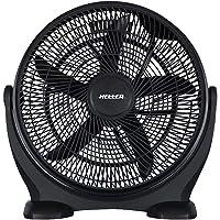Heller 50cm Black High Velocity Floor Desk Fan/Circulator/ Cooling- HVF50B