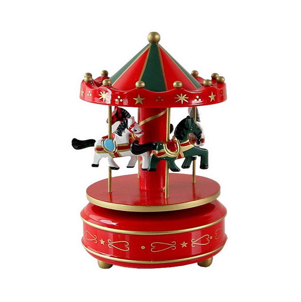 【2018?新作】 木製Merry Go #1 Round牧場馬Fairy Go Musicalボックス誕生日Xmasクリスマスプレゼント誕生日ギフトのおもちゃキッズ子供 ACME-123 B01IHARUES #1 B01IHARUES #1, 津名郡:54914768 --- arianechie.dominiotemporario.com