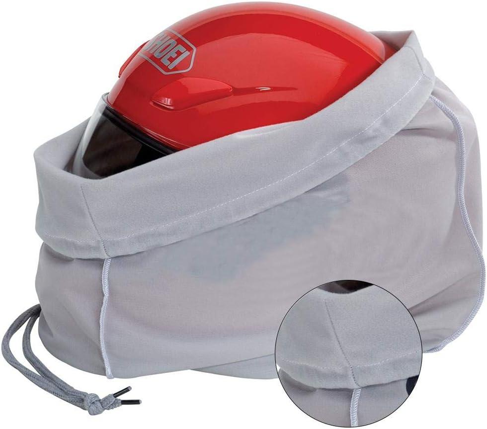 Wateralone Sac /à dos multifonction pour casque de moto avec cordon de serrage Sac de rangement l/éger surdimensionn/é Super doux Sac de rangement de voyage pour moto entra/înement gym randonn/ée sport