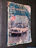 Mustang II Service Repair Handbook All Models, 1974-1978, Clymer Publications Staff, 0892871199