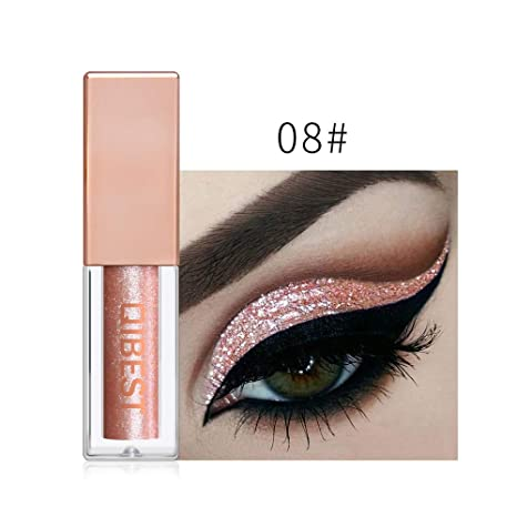 Amazon.com : Shusuen_beauty Waterproof Metallic Shiny Smoky ...