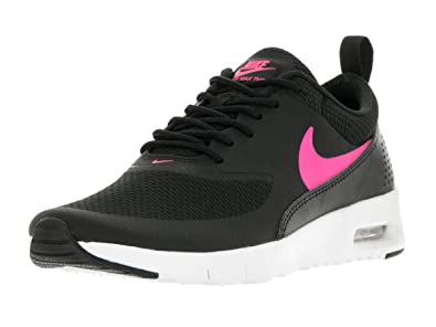 79c31b8a251f Nike Kids Air Max Thea (GS) Black Hyper Pink White Running Shoe