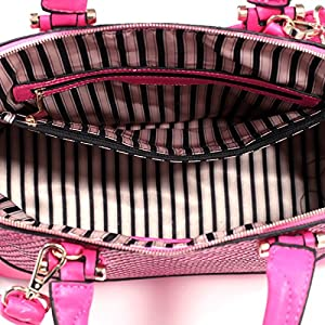 Dasein Dome Zip-Around Flat Bottom Fashion Ipad Bag, Handbag - Light Tan