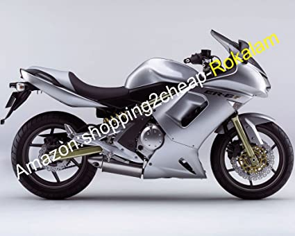 Amazon.com: Complete Fairing For Kawasaki Ninja 650R ER-6F ...