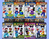Pokemon Lego 8 Pcs In A Set 2016 Brand New Game Pokemon Lego Minifigures Block Toys