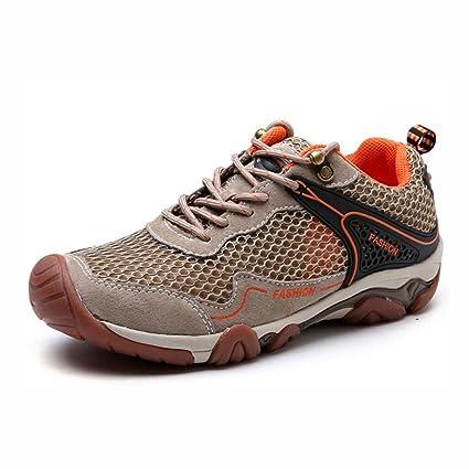 c538655d464c Amazon.com : YaXuan Outdoor Hiking Shoes, New Summer Men's Mesh ...