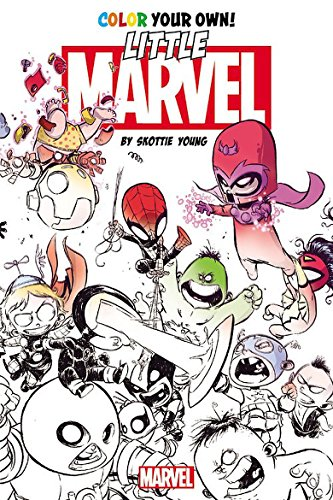 770 Marvel Coloring Book For Adults HD