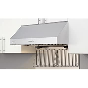 Zephyr AK7036BS Pro Style Under Cabinet Canopy Hood, Stainless Steel