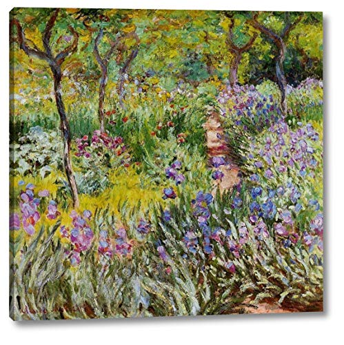 The Iris Garden at Giverny by Claude Monet - 22