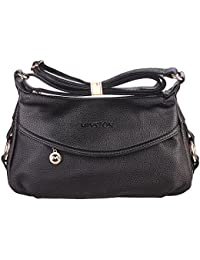 Womens Fashion Genuine Leather Cross Body Shoulder Bag Hobo Style Purse Satchel Handbag for Ladies