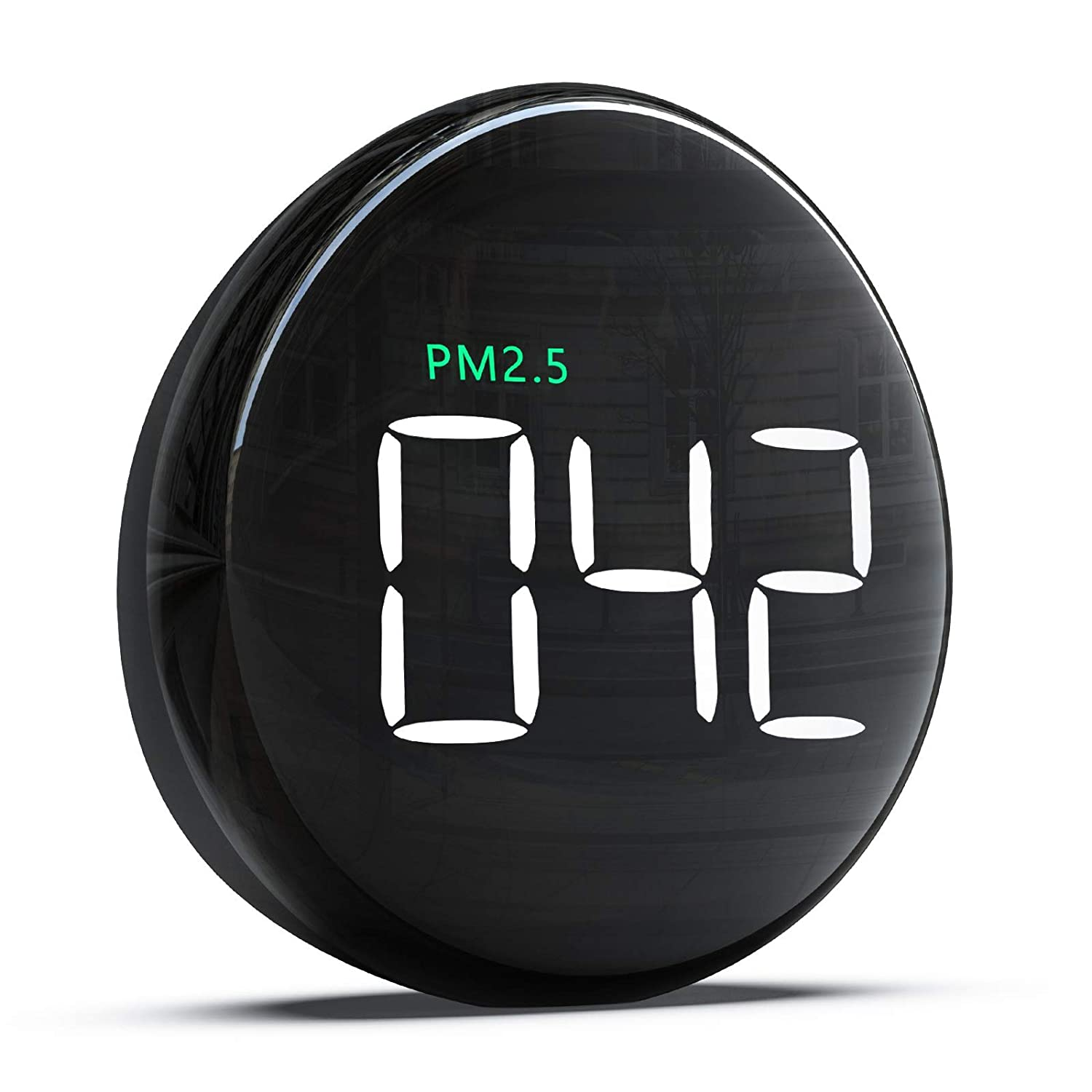 Air Quality Monitor Indoor & Outdoor for PM2.5 Particulate Matter, BAIVON Air Quality Tester Pollution Detector Meter for Home Office Car Travel Use