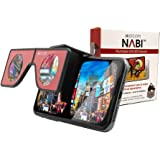 Portable Virtual Reality VR Glasses - Patented Mini Pocket-Sized Headset with Travel Case   Foldable, Portable Head Sets for