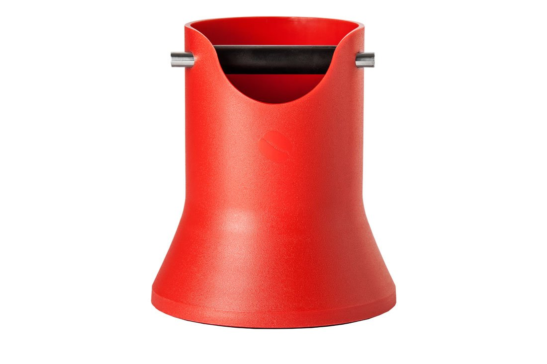 Crema Pro Knock Box 175mm - Red