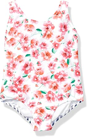 Tommy Bahama Baby Girls One-Piece Swimsuit Bathing Suit