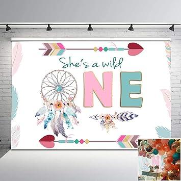 Amazon.com: Mehofoto Wild One - Fondo de vinilo para ...