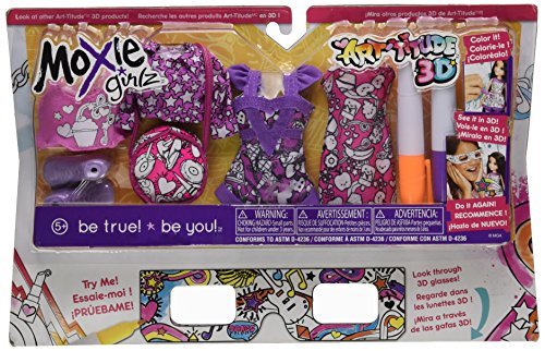 Moxie Girlz Art - Moxie Girlz Art-titude Fashion Pack