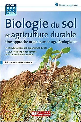La biologie du sol