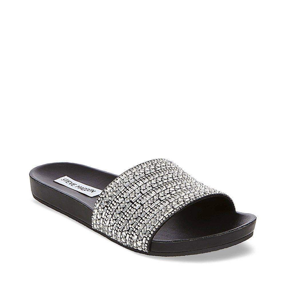 a9c166f15d7 Steve Madden Women's Dazzle Flat Sandal