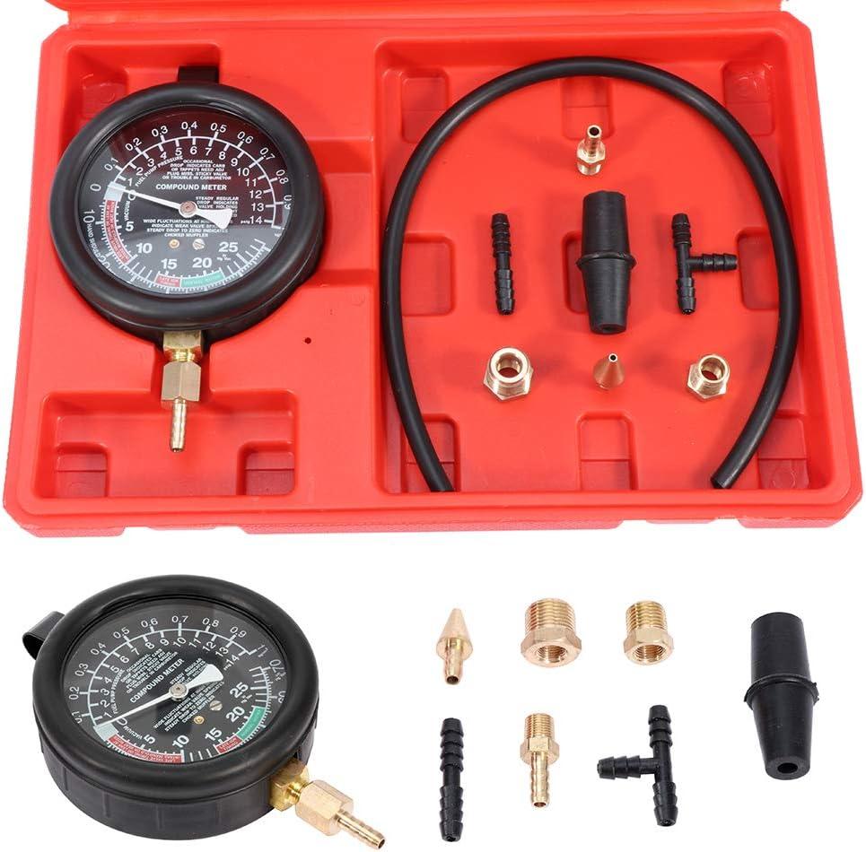 ROADFAR TU-1 Vacuum Pump Car Professional Repair Tools Car Repair Instrument Negative Pressure Vacuum Pressure Gauge Tool
