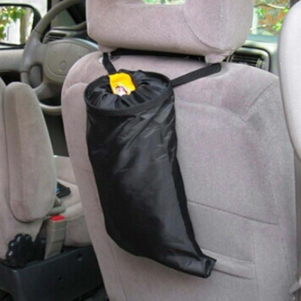 Amerryllis Waterproof Polyester Oxford Car Trash Can Garbage Hanging Bag Holder Container Storage Bag Organizer Bag