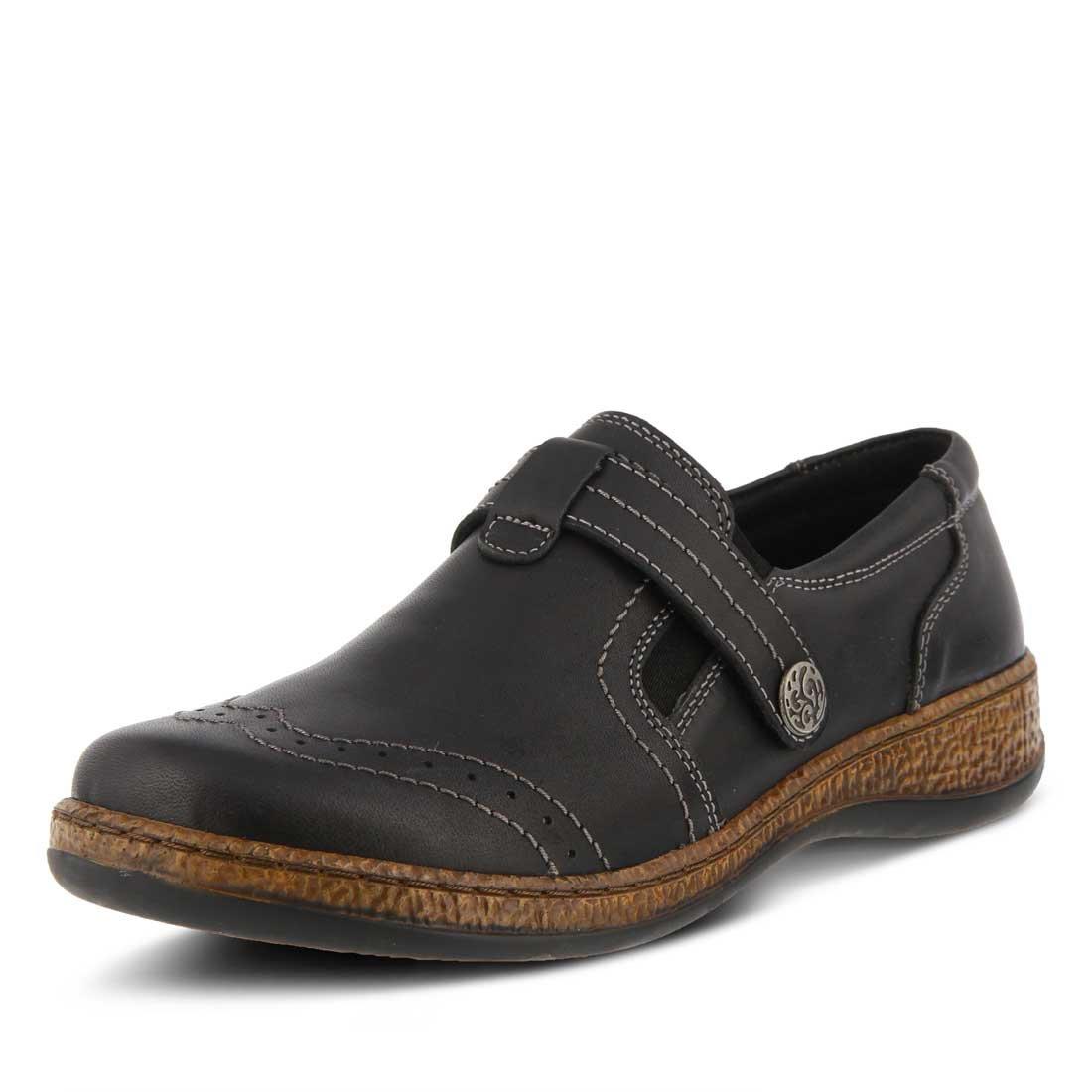 Spring Step Women's Smolqua Strap Slip On Shoe B074JHPQJ6 39|Black