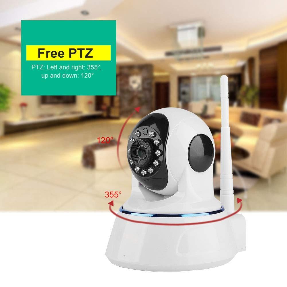 720P HD WiFi IP C/ámara,Sistema Android 32G TF Card iOS Control de APPSeguridad Vigilancia C/ámara para Hogar//Oficina EU