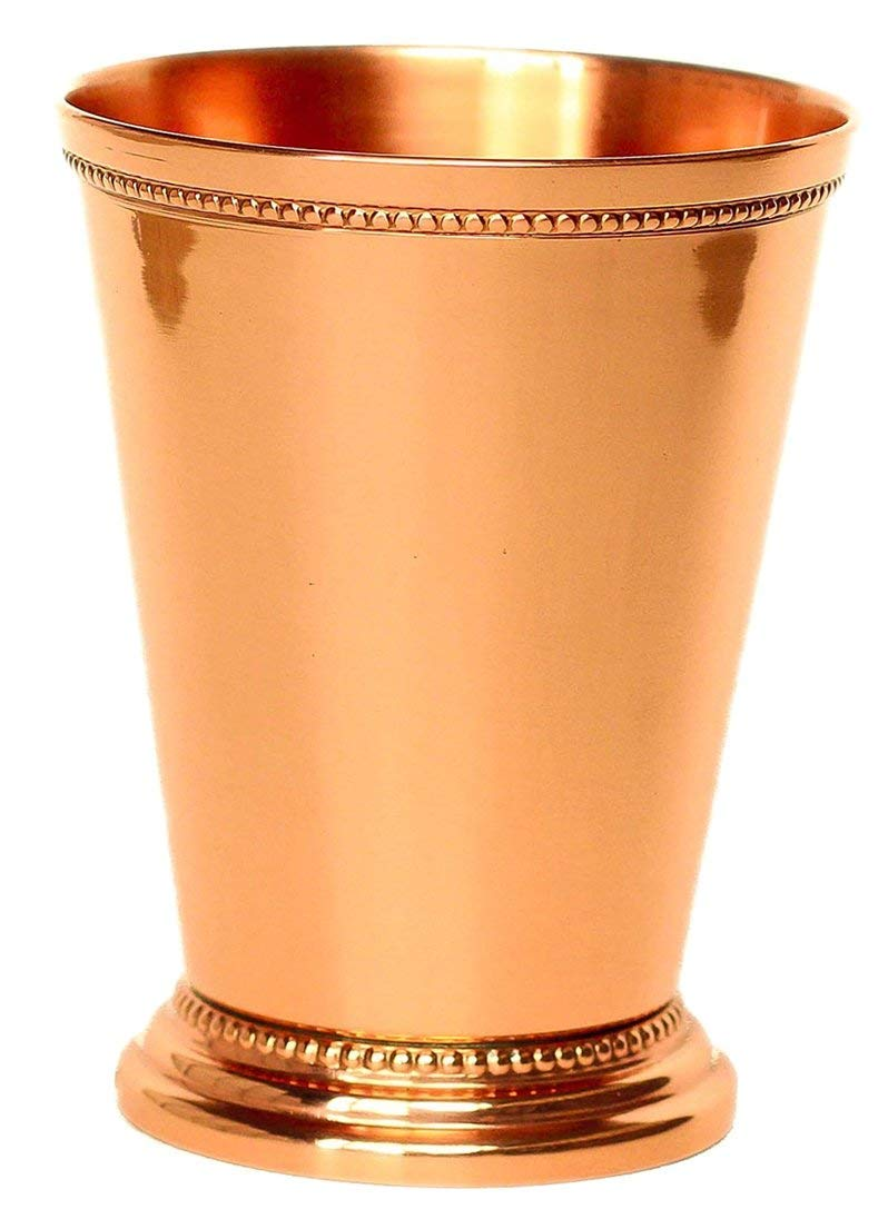Buddha4all Mint Julep Cup Pure Copper Moscow Mule Mint Julep Cup beautifully handcrafted Capacity 12 Ounce (1)