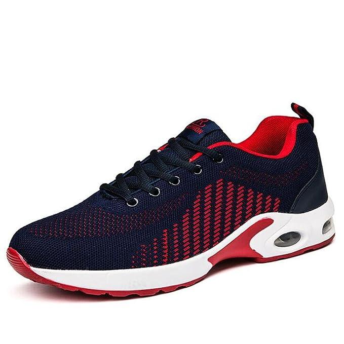 THWS Herrenschuhe Atmungsaktive Schuhe Sport und Freizeit, Blau 39