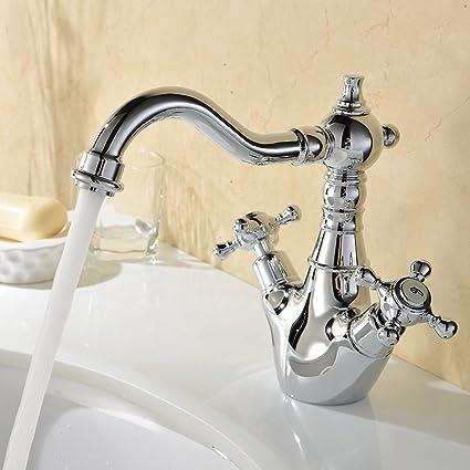Hiendure® ottone ponte montato cucina rubinetto lavabo lavandino ...