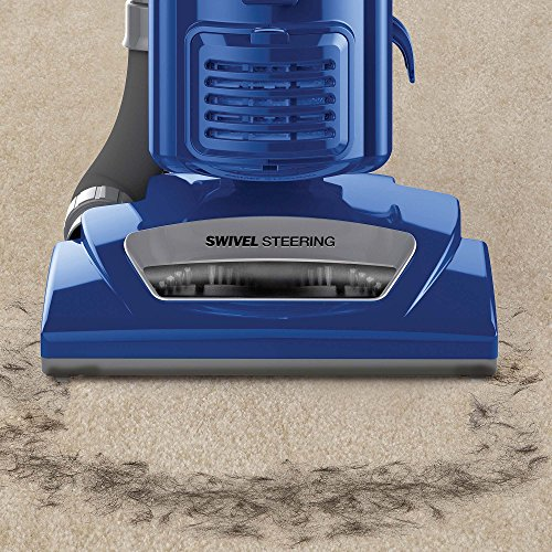 Shark Navigator Swivel Plus Upright Vacuum Blue Nv46ref